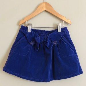 Purple Sweet Ivy corduroy skirt SZ 3T